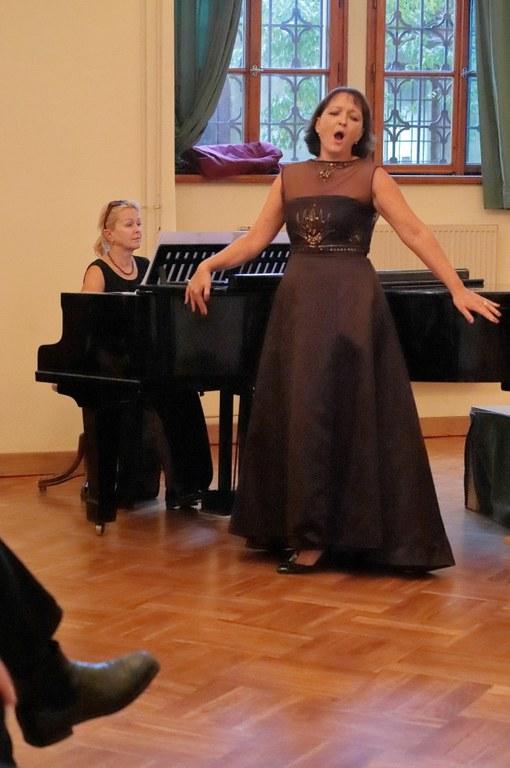 Lenka Navrátilová a Michaela Šrůmová