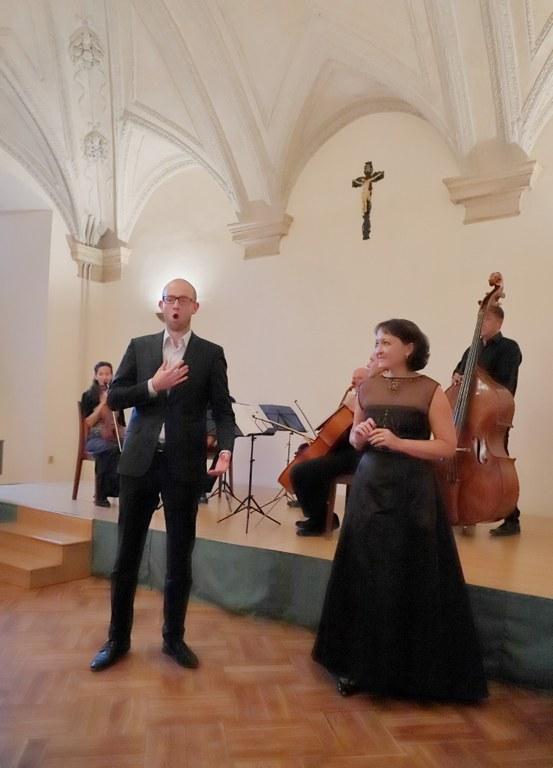 Martin Kalivoda a Michaela Šrůmová